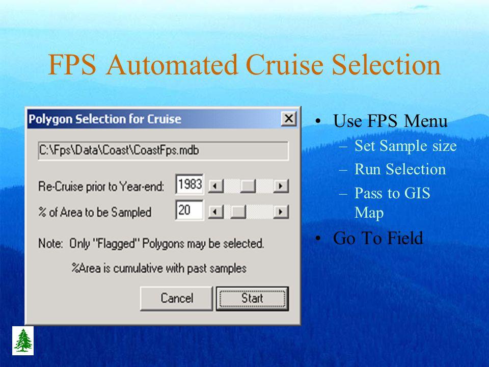 Cruise Selection