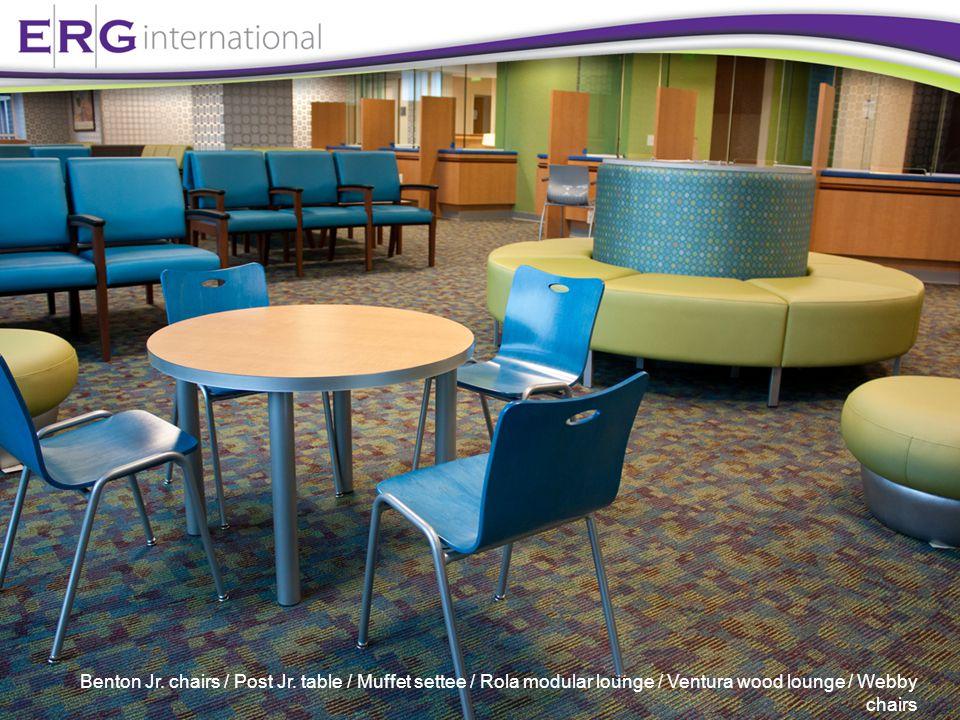 Benton Jr.chairs / Post Jr.