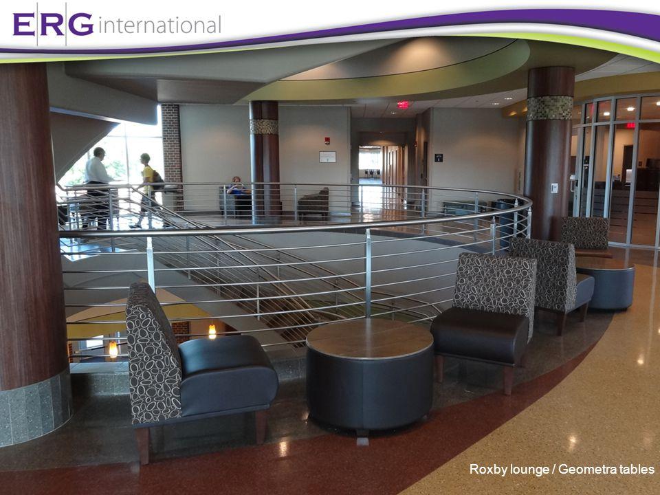 Roxby lounge / Geometra tables