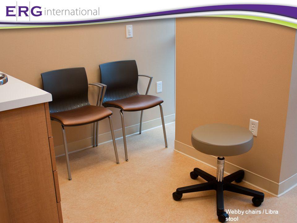 Webby chairs / Libra stool