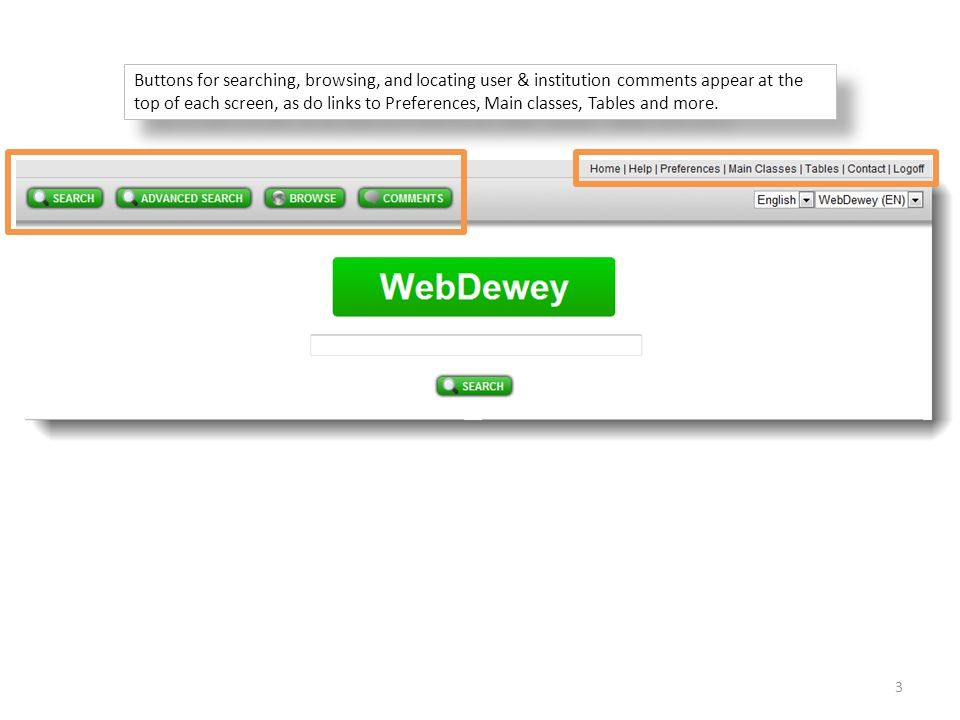 To return to the WebDewey record, click the link in the 083 field or use your browser s Back button.