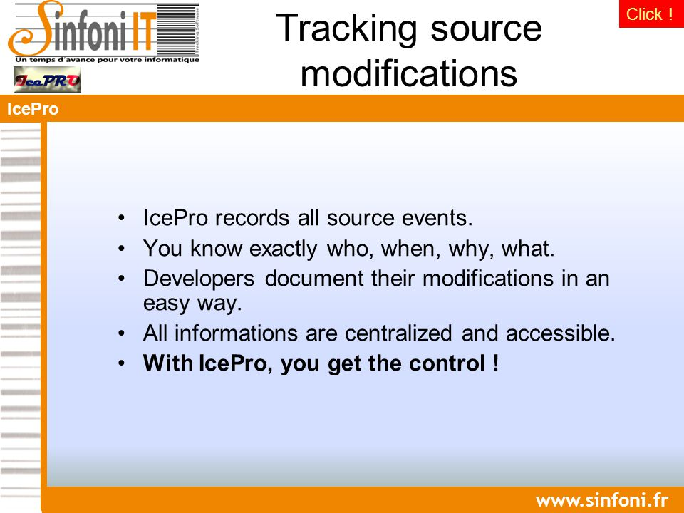 IcePro   IcePro records all source events.