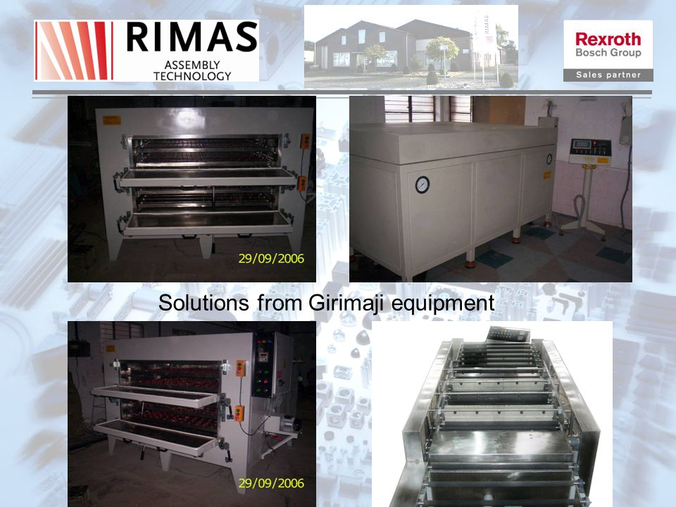 Solutions from Girimaji equipment