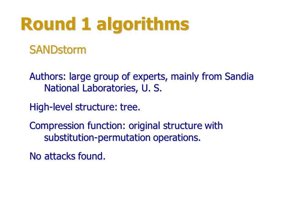 Round 1 algorithms Authors: Kerem Varıcı, Onur Özen, Çelebi Kocair (Middle East Technical University, Turkey).