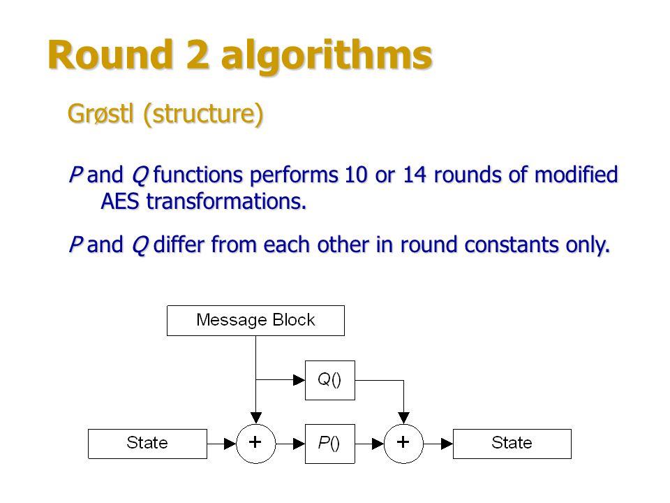 Round 2 algorithms Author: Özgül Küçük (Catholic University of Leuven, Belgium).