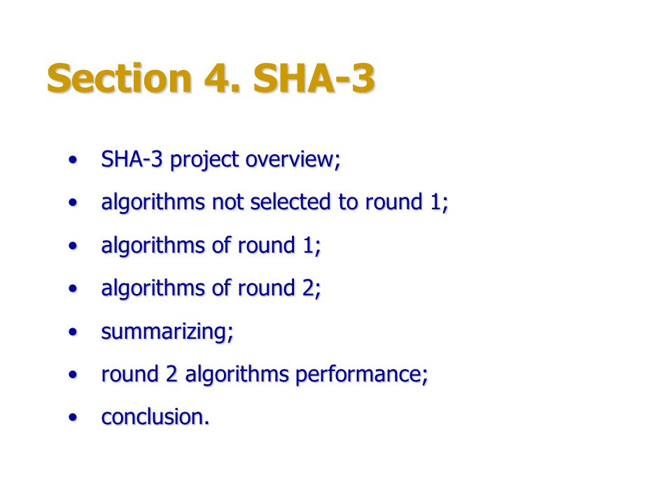 SHA-3 SHA-3 project is an open competition for a new SHA-3 hash function.