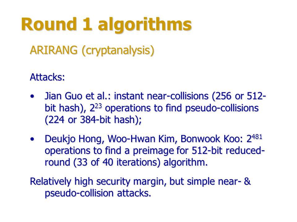 Round 1 algorithms Authors: Specialists from Sony Corporation & Nagoya University, Japan.