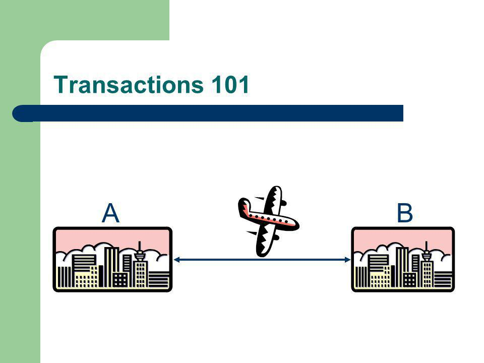 Transaction processing is a general concept to ensure integrity of any dynamic system in the course of transition from one consistent state to another consistent state.