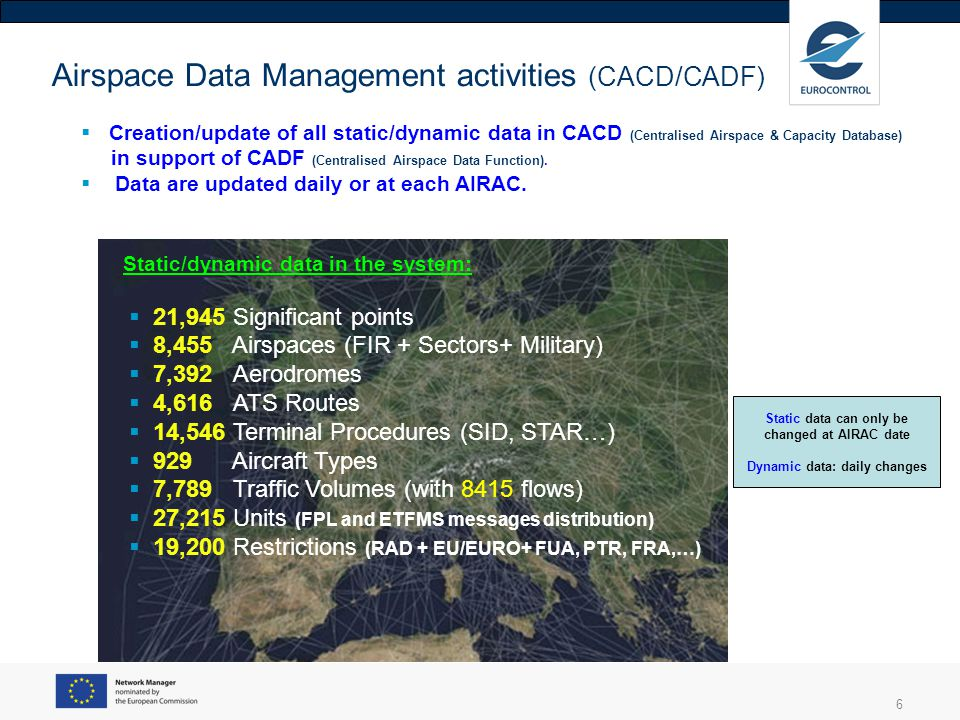 7 CACD/CADF activities 2013 600 NOTAMs (average) were monitored daily and about 50 required an action in CACD.