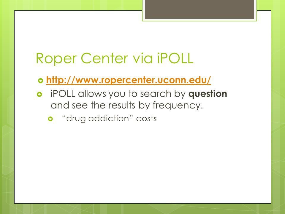 Roper Center via iPOLL   iPOLL allows you to search by question and see the results by frequency.