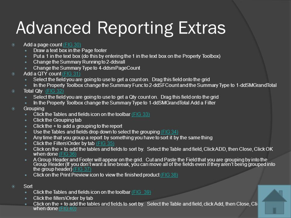 Click on Save As Back to Exporting Reports