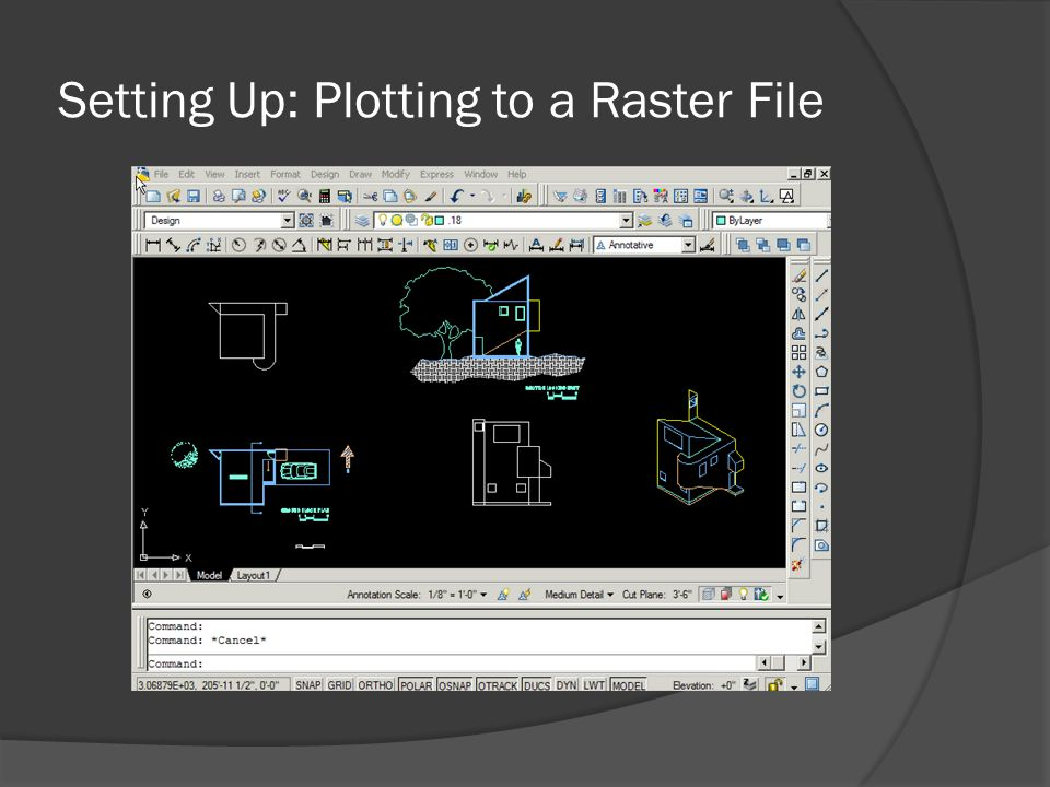 Setting Up: Plotting to a Raster File