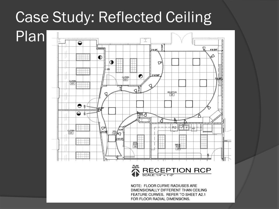 Case Study: Reflected Ceiling Plan