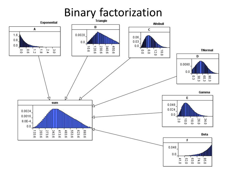 Binary factorization