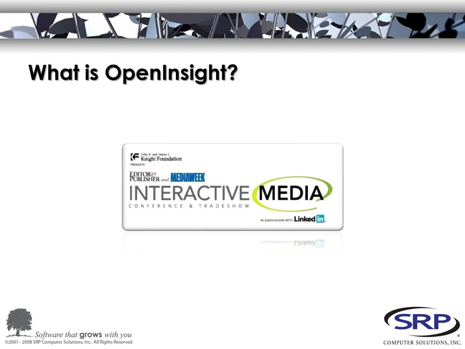 What is OpenInsight
