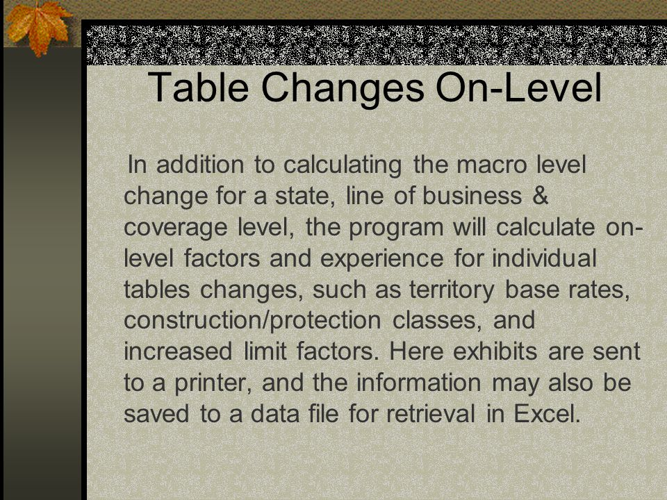 On-Level ASAP On-Level ASAP is designed, produced & marketed by: R.