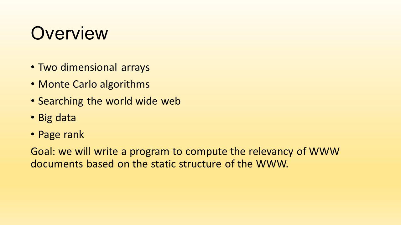 Reachability, Markov Theory Can node 2 reach node 4? Yes, using a path of length 2 through node 3.