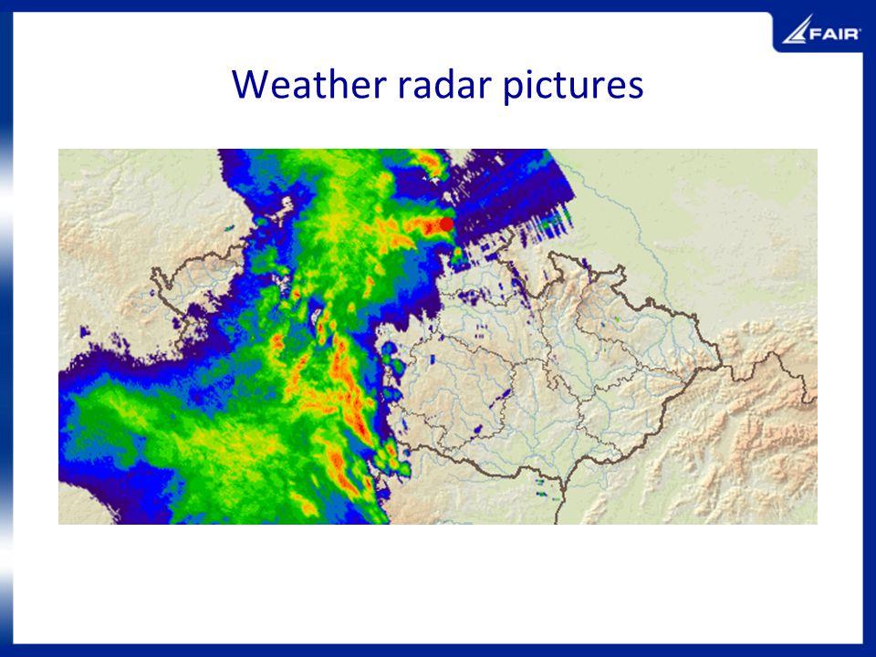 Weather radar pictures
