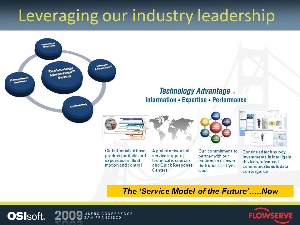 Leveraging our industry leadership