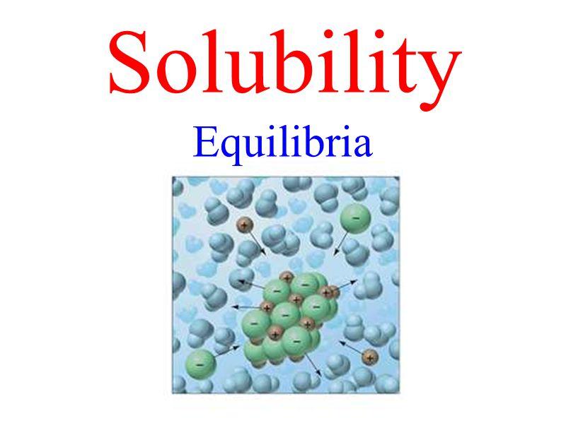K sp = (1.90 x 10 -3 )(3.80 x 10 -3 ) 2 K sp = 2.74 x 10 -8 PbF 2(s) Pb 2+ (aq) + 2 F¯ (aq) [E][E] 0 1.9 x 10 -3 M [I][I] 1.9 x 10 -3 mol/L 00 [C][C]- x+ x+ 2x 3.8 x 10 -3 M Saturated – all solid reactant dissociates.
