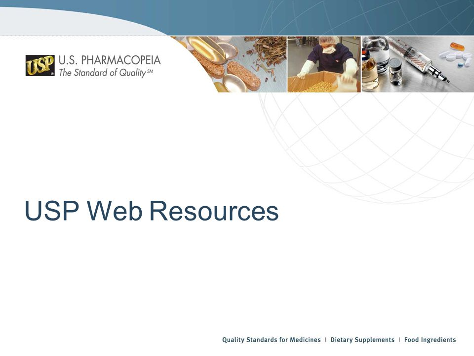 USP Web Resources