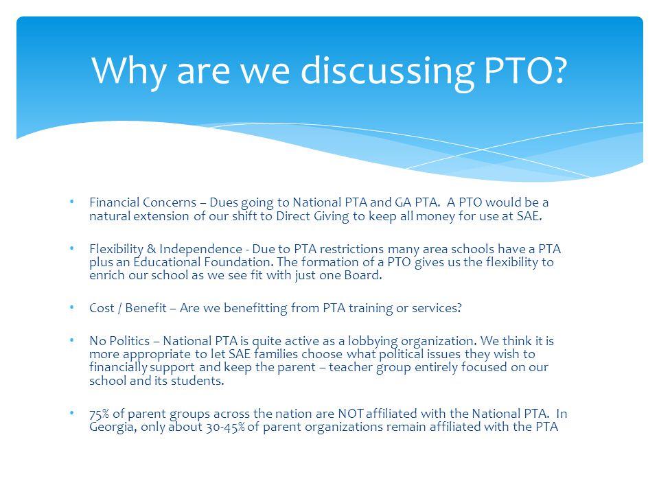 Percentage of Schools with PTA Memberships