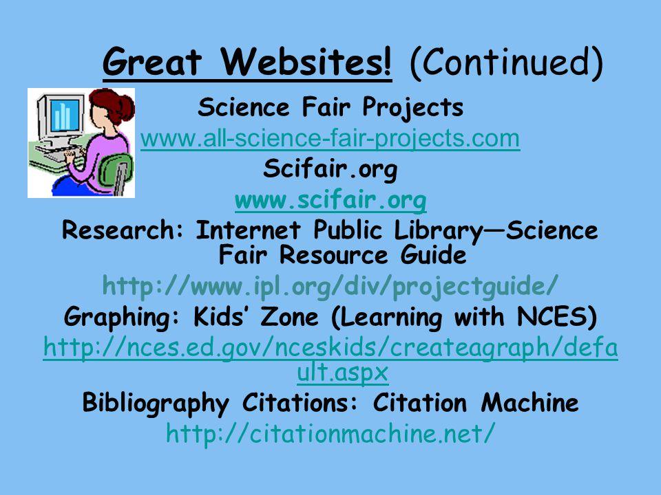Great Websites.