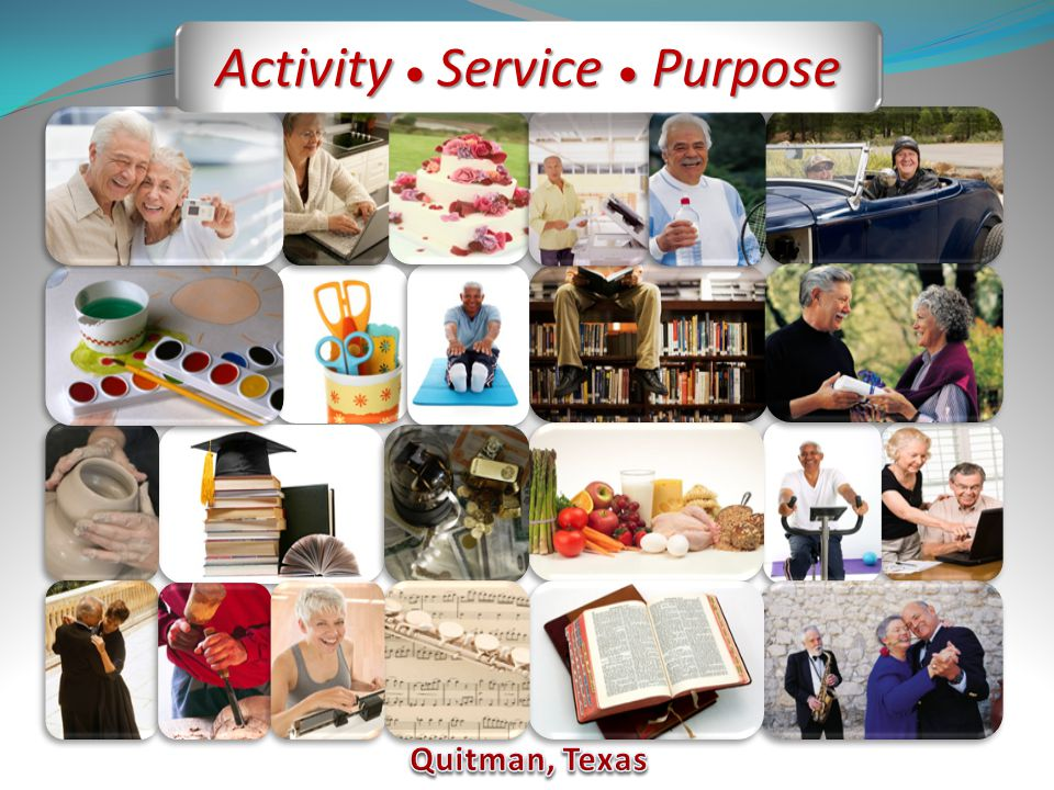 Activity Service Purpose