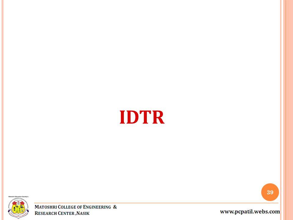 IDTR 39