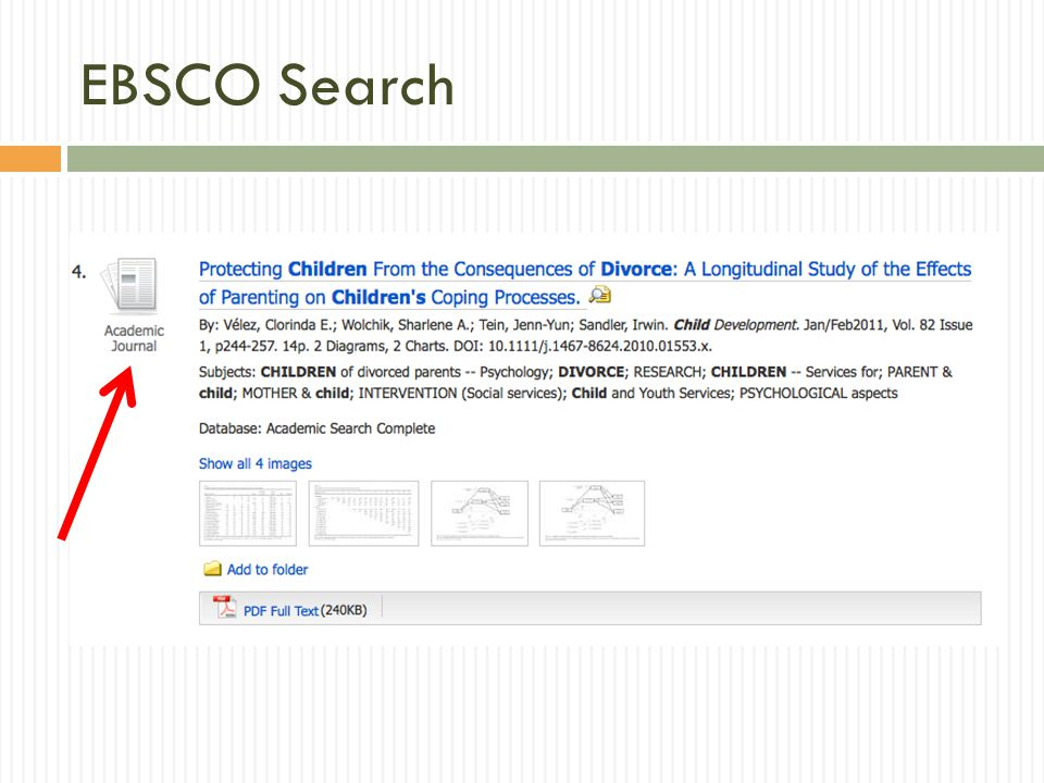 EBSCO Search