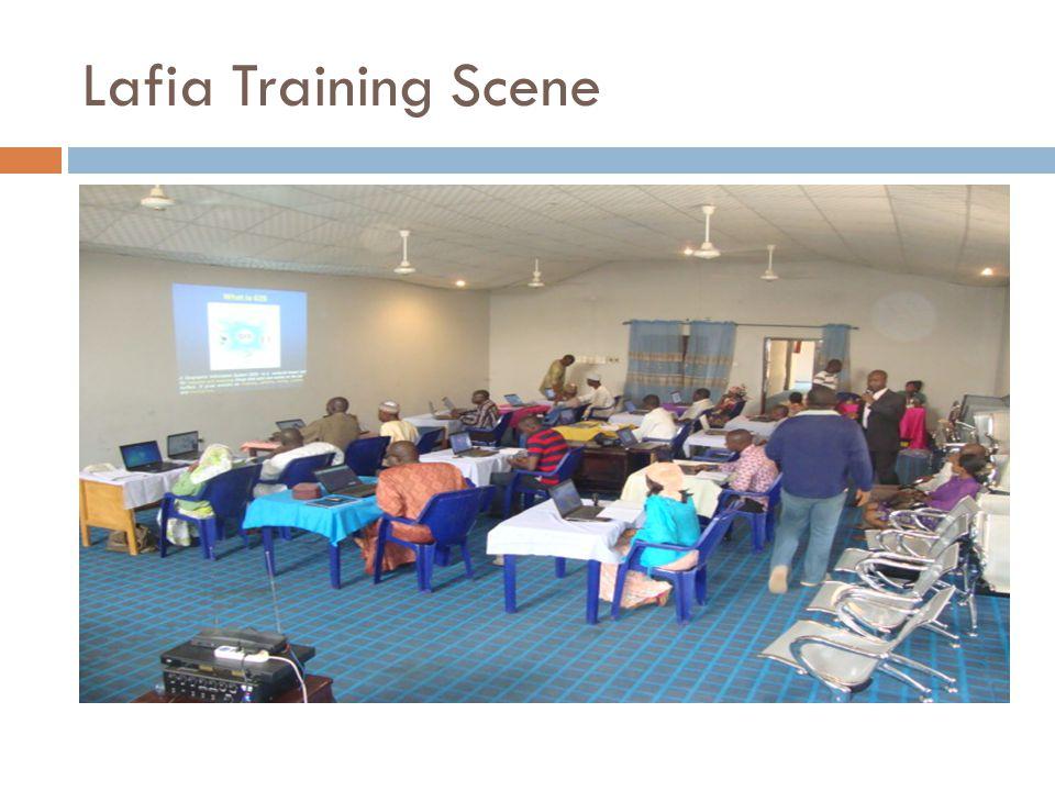 Lafia Training Scene