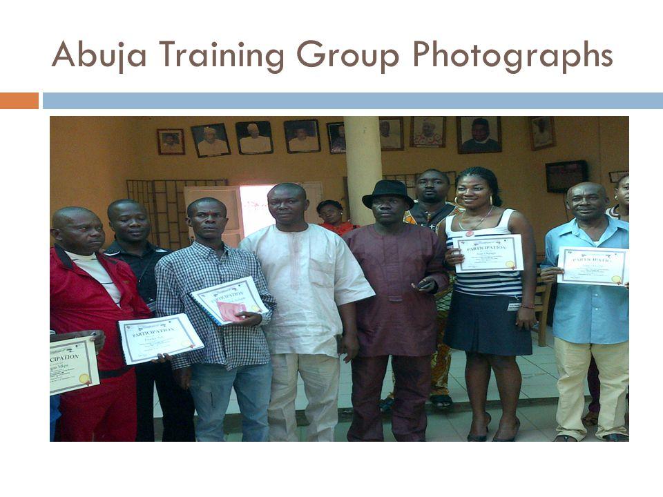 Abuja Training Group Photographs