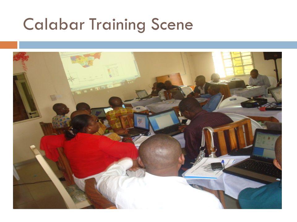 Calabar Training Scene
