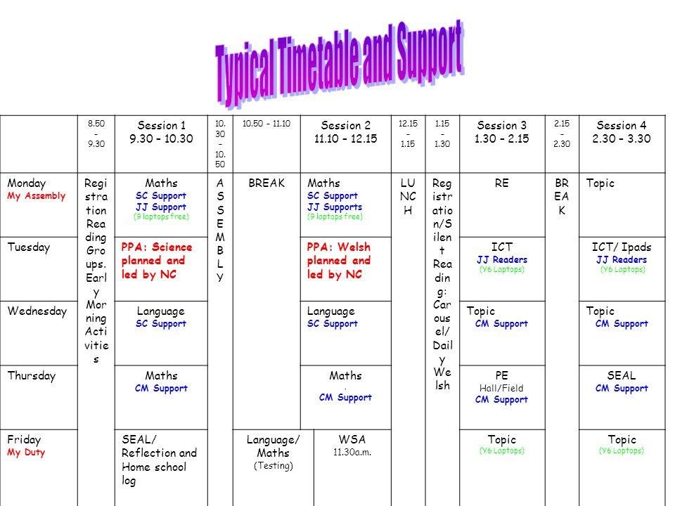 8.50 – 9.30 Session 1 9.30 – 10.30 10. 30 – 10.