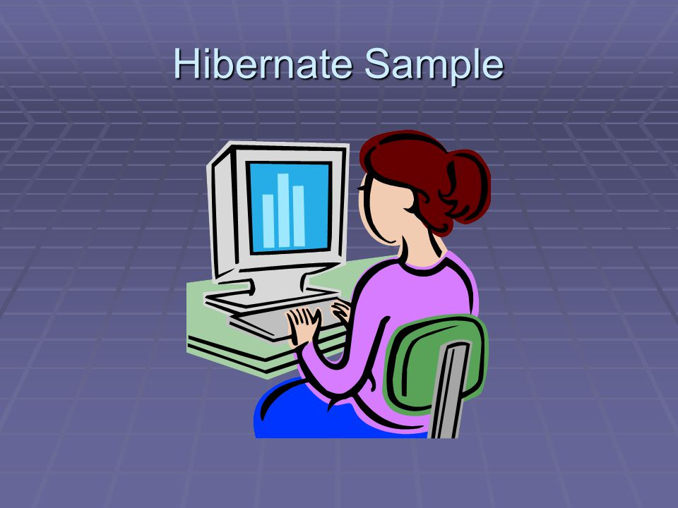 Hibernate Sample