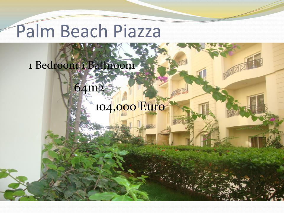 1 Bedroom 1 Bathroom 64m2 104,000 Euro