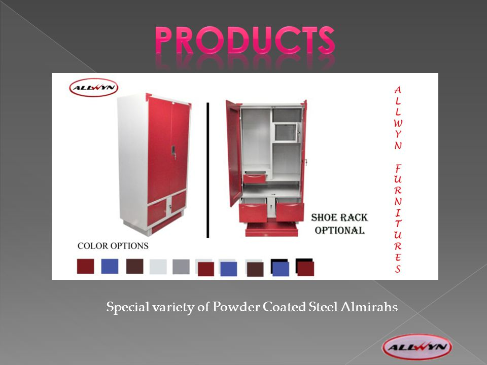 Special variety of Powder Coated Steel Almirahs