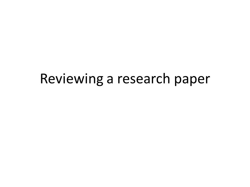 What is a research paper A research paper – Analyzes a perspective – Argues a point It represents your own thinking/analysis backed by others work (P.