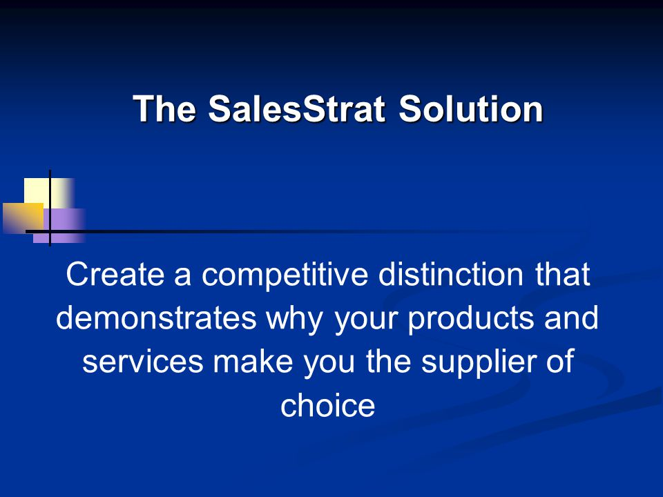 Strategic Business Solutions, L.L.C.