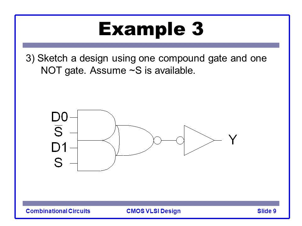 CMOS VLSI DesignCombinational CircuitsSlide 10 Compound Gates Logical Effort of compound gates