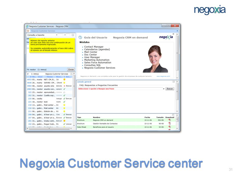 x negoxia Negoxia Customer Service center 31