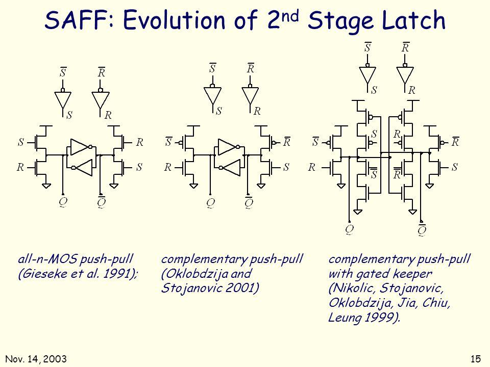 Nov.14, 200315 all-n-MOS push-pull (Gieseke et al.