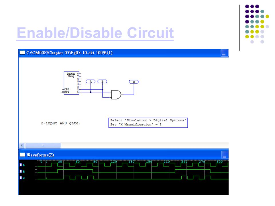 Enable/Disable Circuit