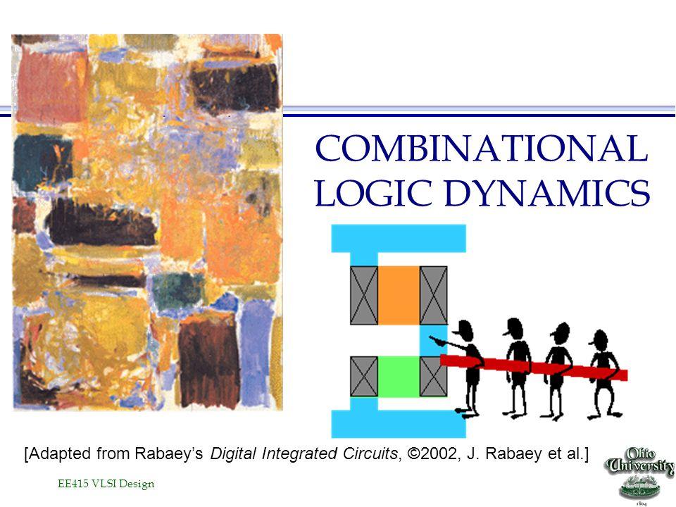 EE415 VLSI Design COMBINATIONAL LOGIC DYNAMICS [Adapted from Rabaeys Digital Integrated Circuits, ©2002, J. Rabaey et al.]