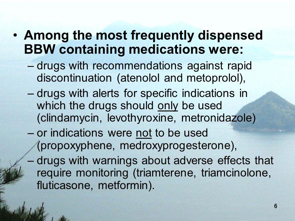 77 Sertraline (Zoloft®) & all SSRIs Serotonin Syndrome
