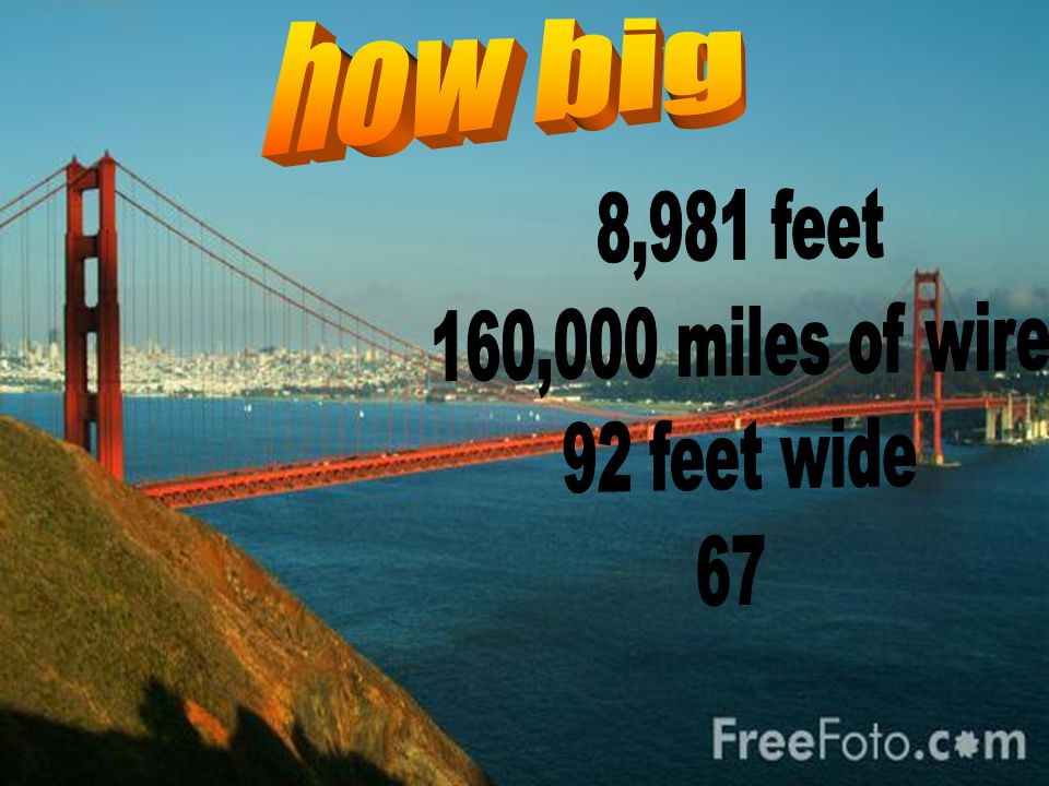 This is the golden gate bridge