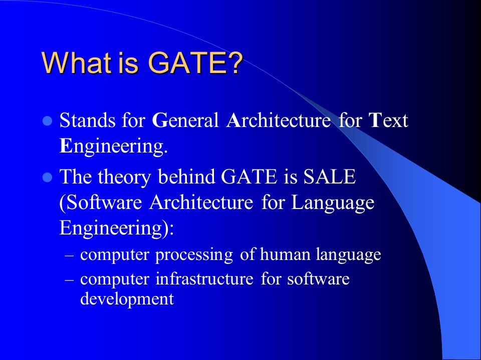 Create a New Resource Write a Java class that implements GATEs beans model.
