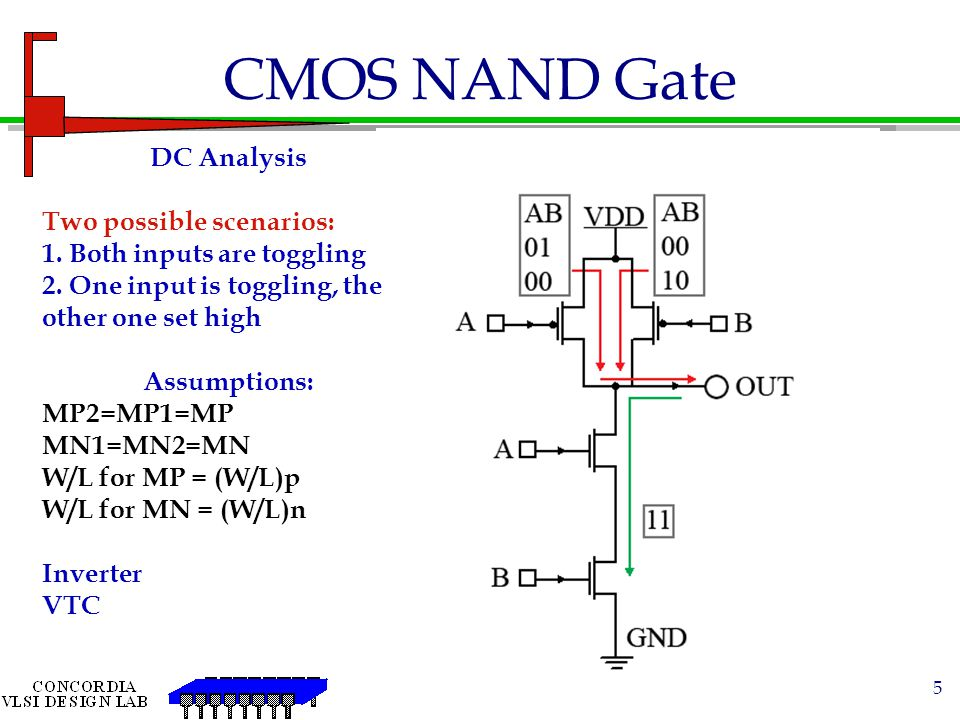6 Gate Sizing To obtain equal Rise and Fall time, Size the series / parallel transistors to have an equivalent of a single PU or PD inverter transistor in your design