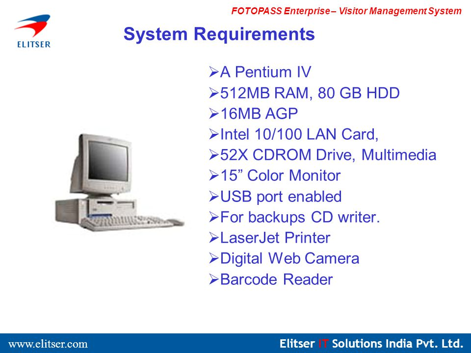 Elitser IT Solutions India Pvt. Ltd.