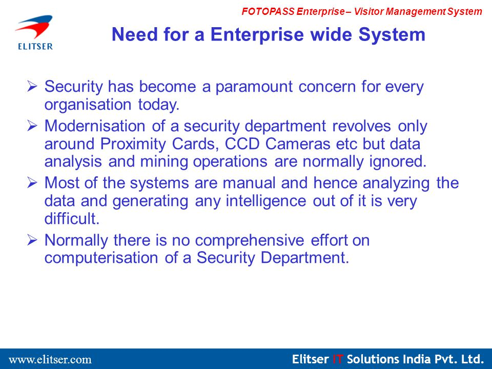 Elitser IT Solutions India Pvt.Ltd.